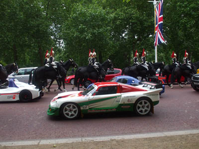 Darrian with Household Cavalry